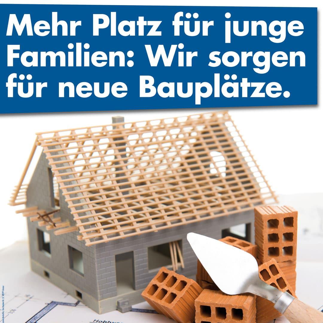 Mehr Platz für junge Familien: Wir sorgen für neue Bauplätze in Gronau und Epe